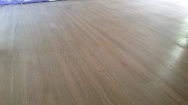 White wash stain on oak wood floors