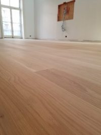Harlem Project: Raw 7'' white oak planks